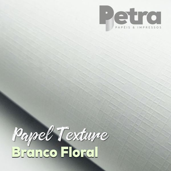 Papel Branco Telado 180g/m²  Tamanho A4 - com 100 folhas
