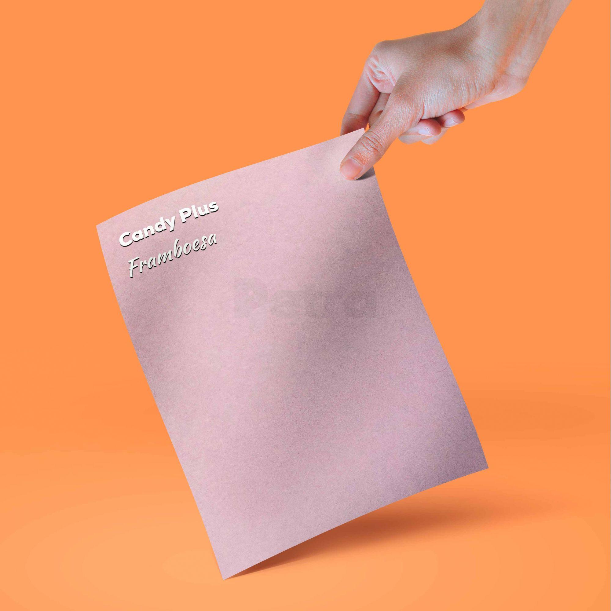Candy Plus - Framboesa - Lilas - Tam. A4 - 180g/m² - 20 folhas