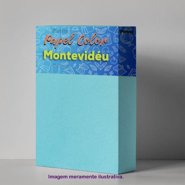 Papel Color Montivideu - Azul - tam. A4 180g/m²
