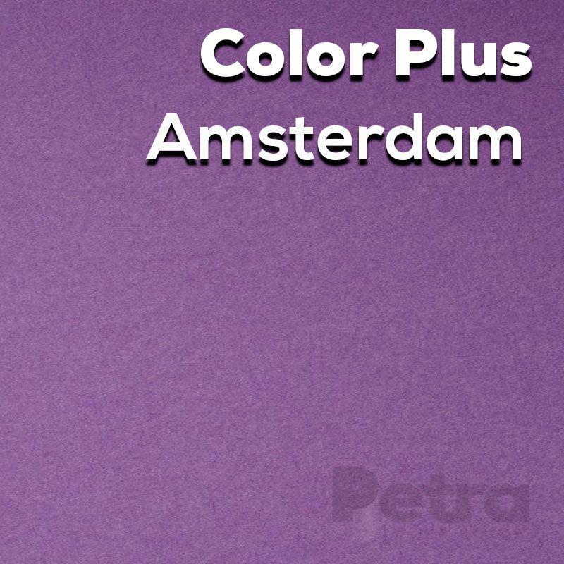 Papel Color plus Amsterdan - Roxo tam. A4 120g/m² com 50 folhas