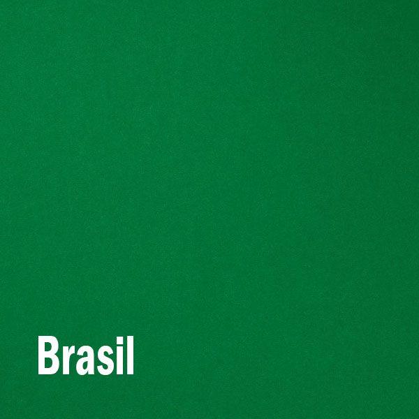Papel Color Plus Brasil - Verde Tam. 66x96cm 180g/m² 10 Folhas