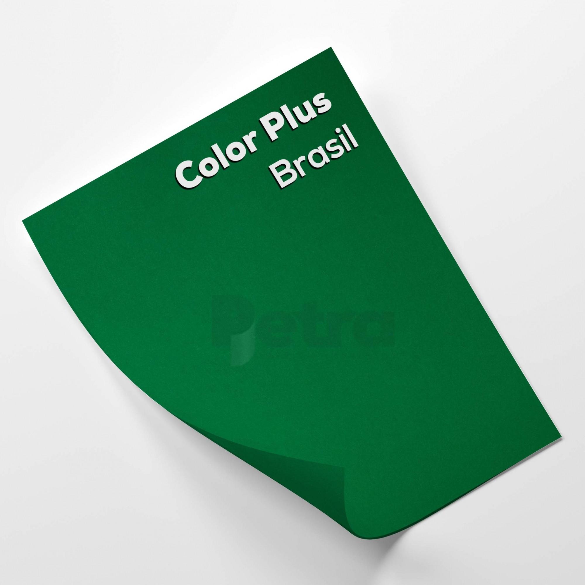 Papel Color Plus Brasil - Verde tam. A4 180g/m²