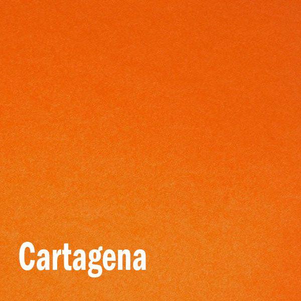 Papel Color plus Cartagena - Laranja - tam. A4 120g/m² - 50 Folhas