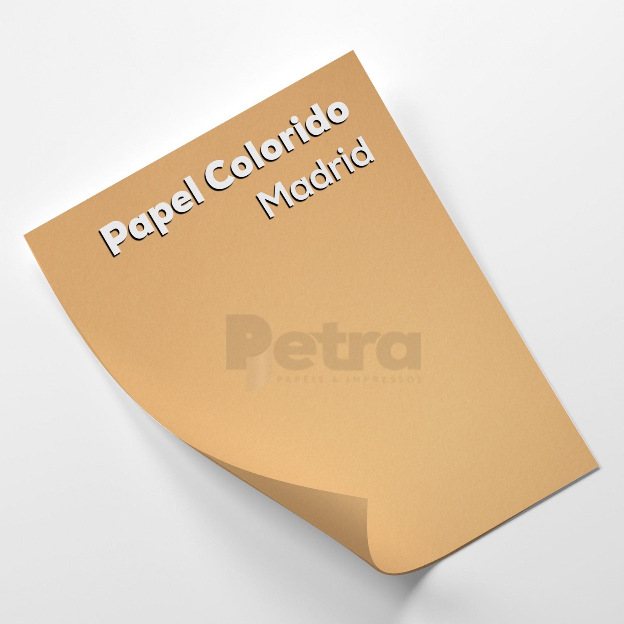 Papel Color Plus Madrid -  tam. A4 180g/m²