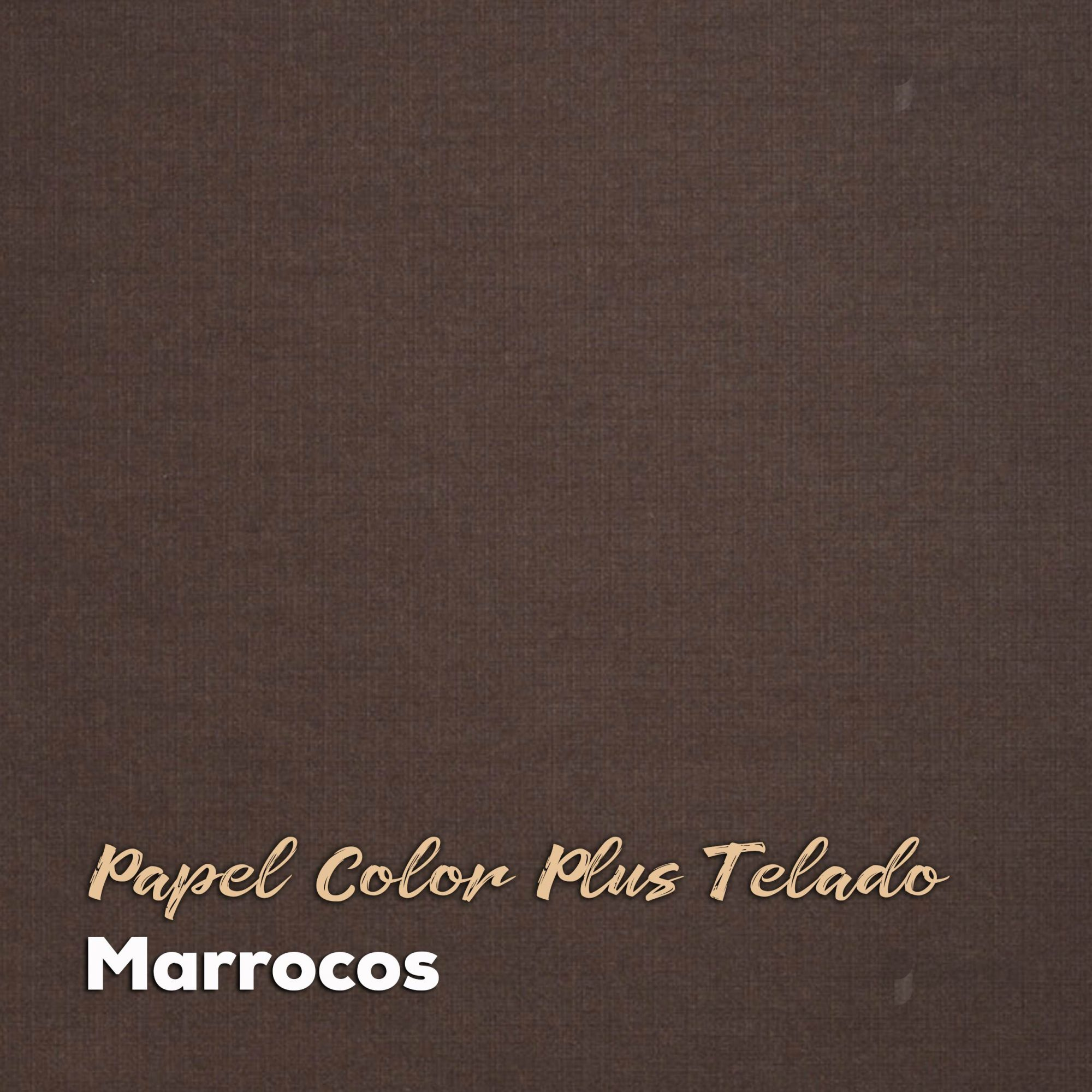 Papel Color Plus Marrocos Telado - Tam. A4 180g/m² - 20 Folhas