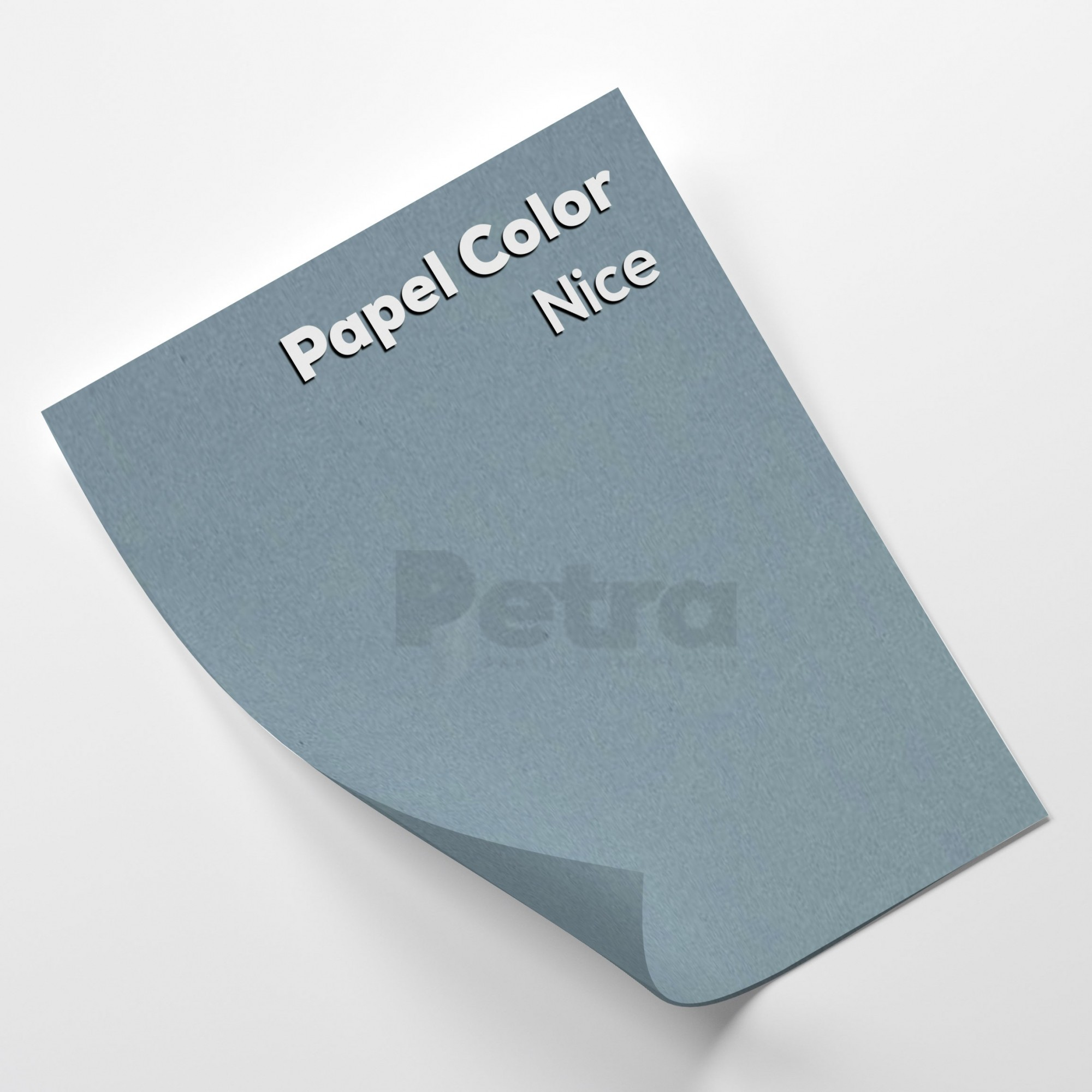 Papel Color Plus Nice - Azul tam. 30,5x30,5cm 180g/m²