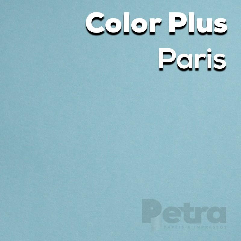 Papel Color Plus Paris - Azul tam. 30,5x30,5cm 180g/m²