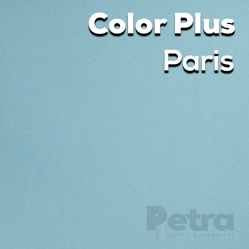 Papel Color Plus Paris - Azul Tam. 66x96cm 180g/m² 10 Folhas