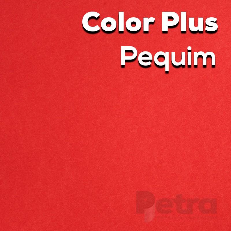 Papel Color plus Pequim - Vermelho - tam. A4 120g/m² com 50 folhas