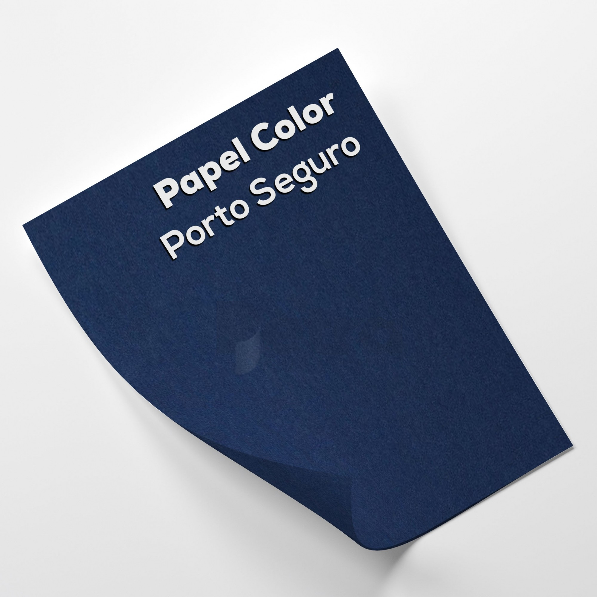 Papel Color Plus Porto Seguro - Azul tam. 32x65cm 180g/m² 50 Folhas