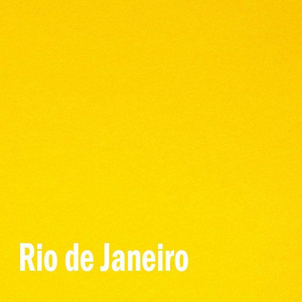 Papel Color plus Rio de Janeiro - Amarelo - tam. A4 120g/m² com 50 folhas