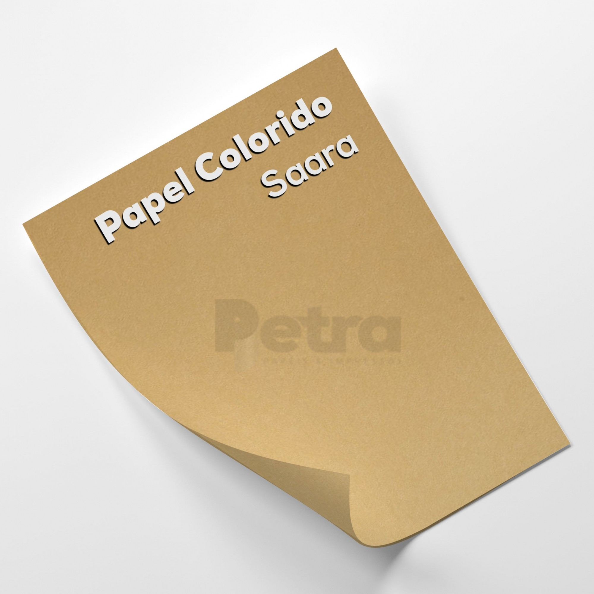 Papel Color Plus Sahara - Bege Tam. 66x96cm 180g/m² 10 Folhas