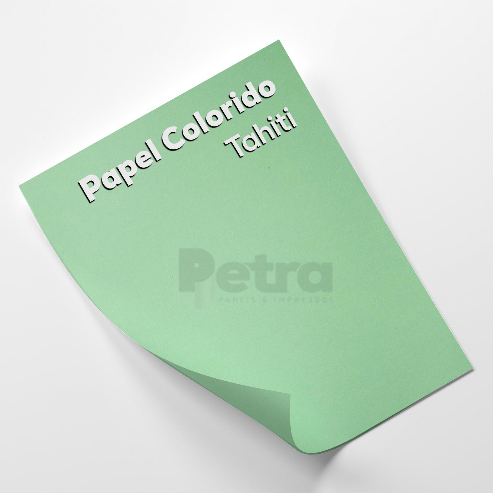 Papel Color Plus Tahiti - Verde tam. A3 180g/m²