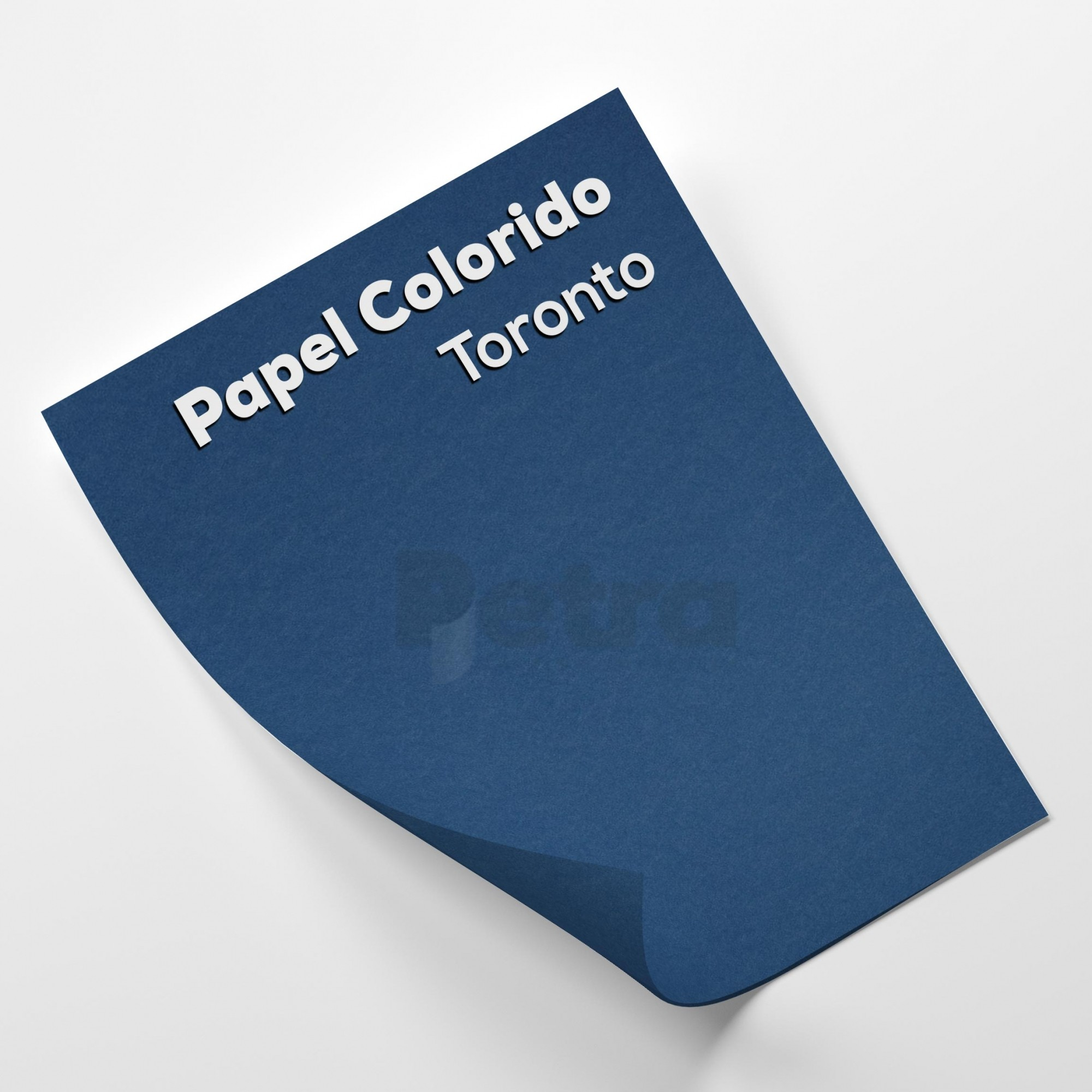 Papel Color Plus Toronto - Azul tam. 30,5x30,5cm 180g/m²