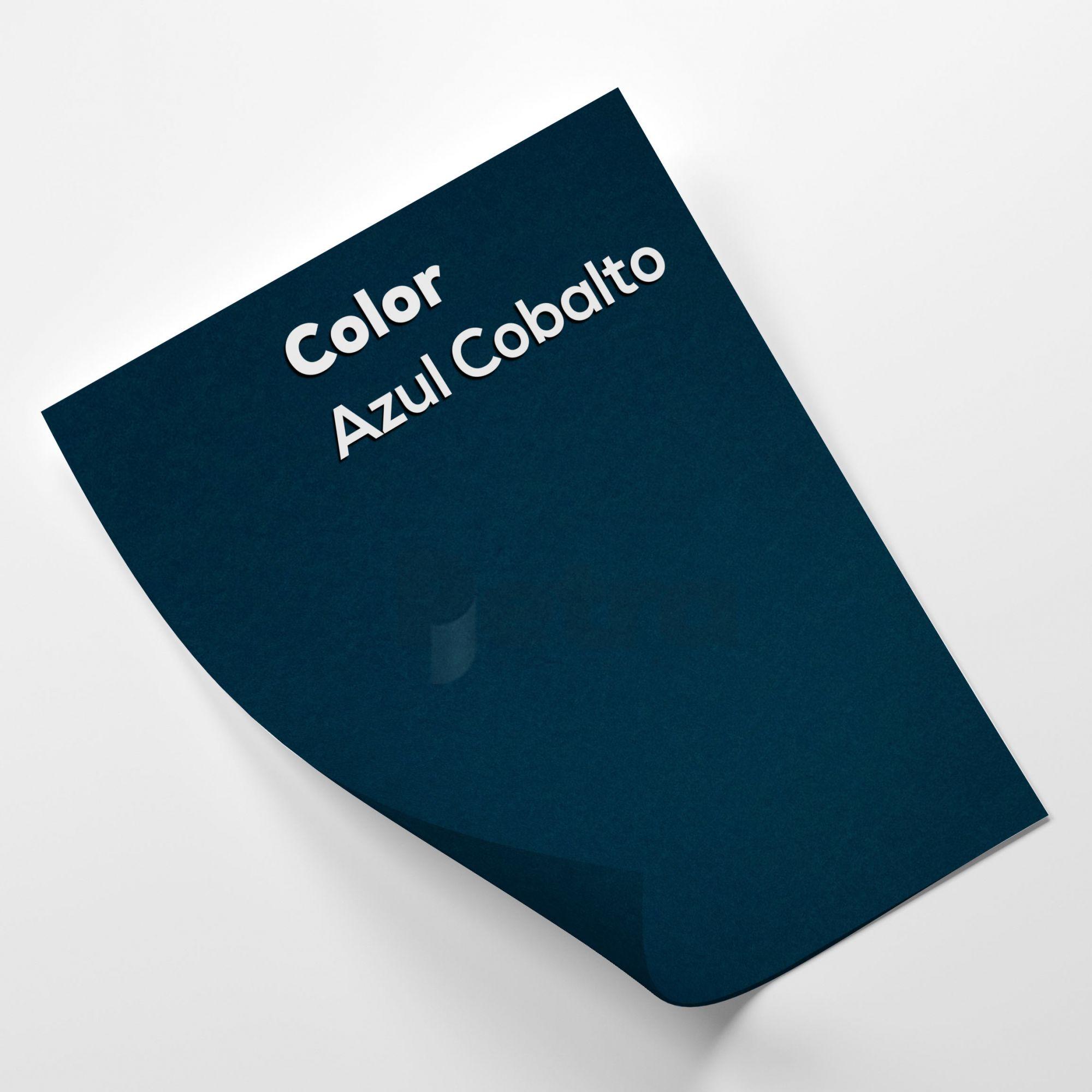 Papel Colorido  Azul Cobalto - tam. A4 180g/m²