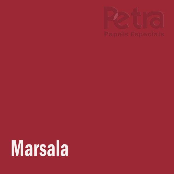 Papel Colorido Marsala tam. 32x65cm 180g/m² 50 Folhas