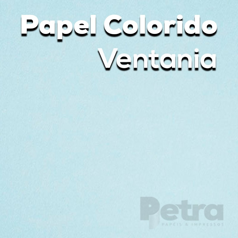 Papel Colorido Ventania - tam. A4 180g/m²