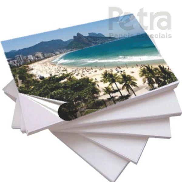 Papel Fotográfico Adesivo 135g/m² - Tam: A3 - 20 Folhas