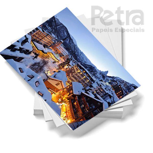 Papel Fotográfico Glossy A4 180g/m² - 100 Folhas