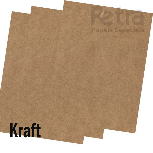 Papel Kraft - Tamanho 66x96cm - 300g/m²