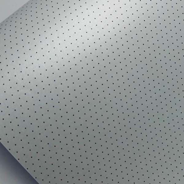 Papel Mini Poás - Pérola Branca com Preto - Tam. 30,5x30,5cm - 180g/m²