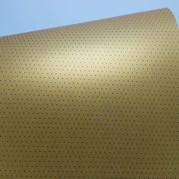 Papel Mini Poás - Pérola Ouro com Preto - Tam. 30,5x30,5cm - 180g/m²
