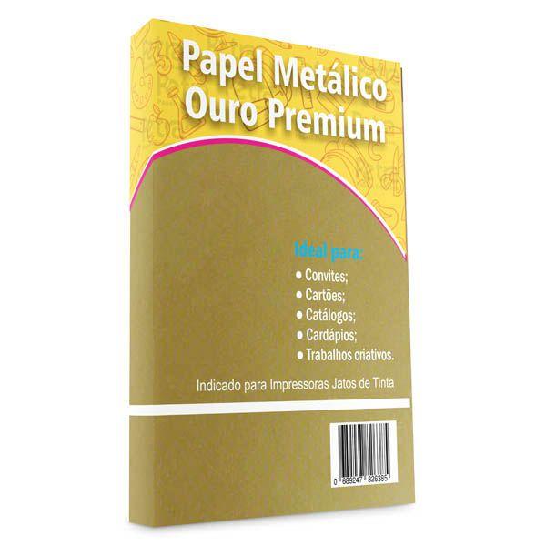 Papel OURO Premium Tam: A3 240g/m²