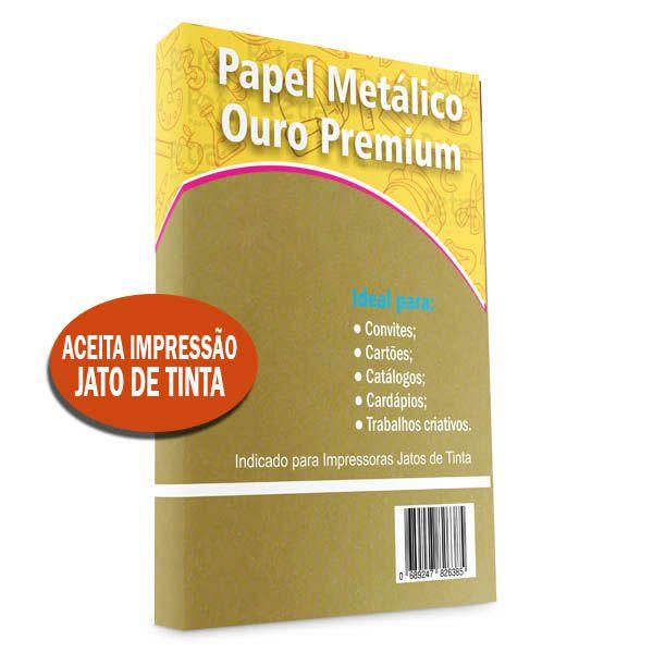 Papel OURO Premium Tam: A4 240g/m²