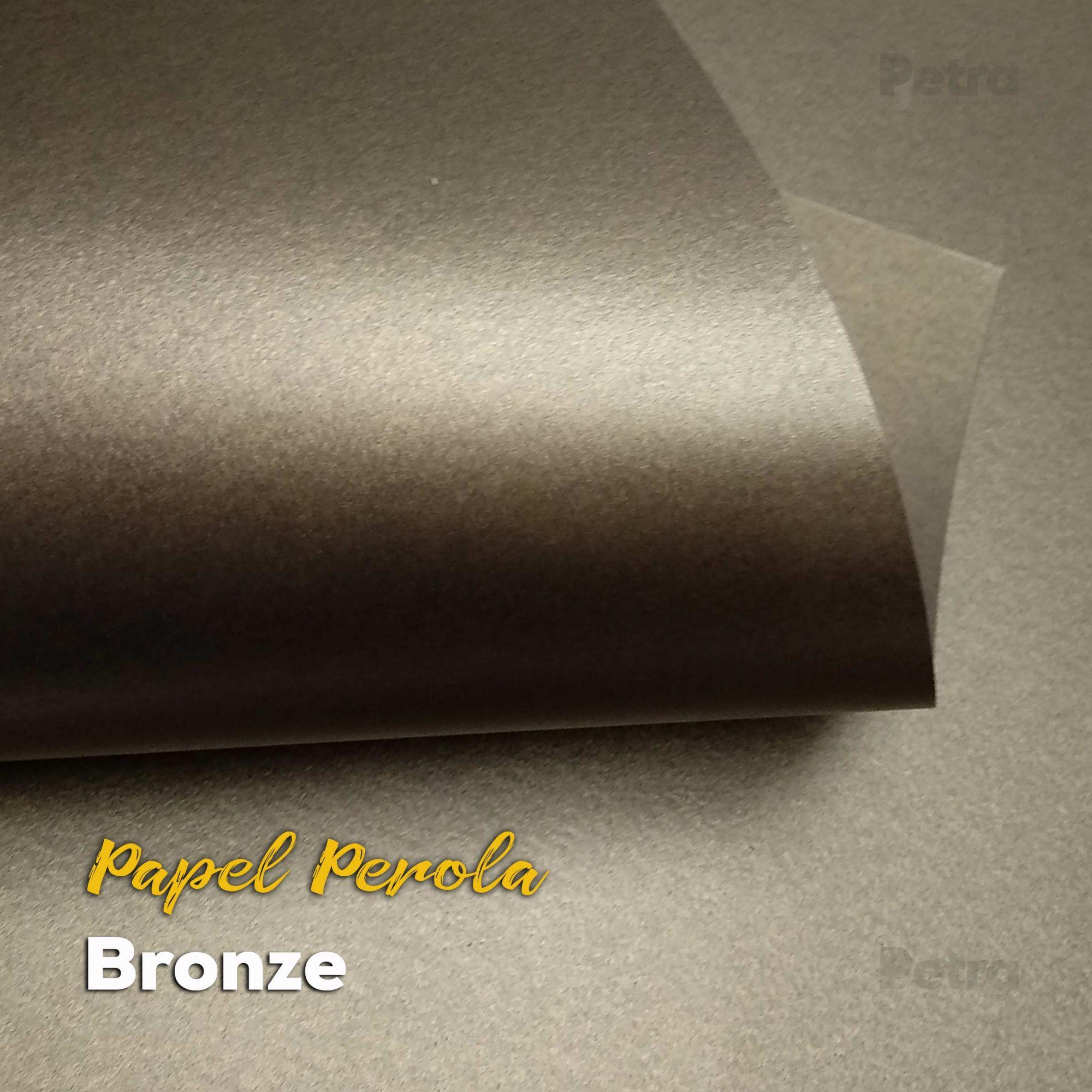 Papel Pérola Bronze Tam. A3 - 180g/m²