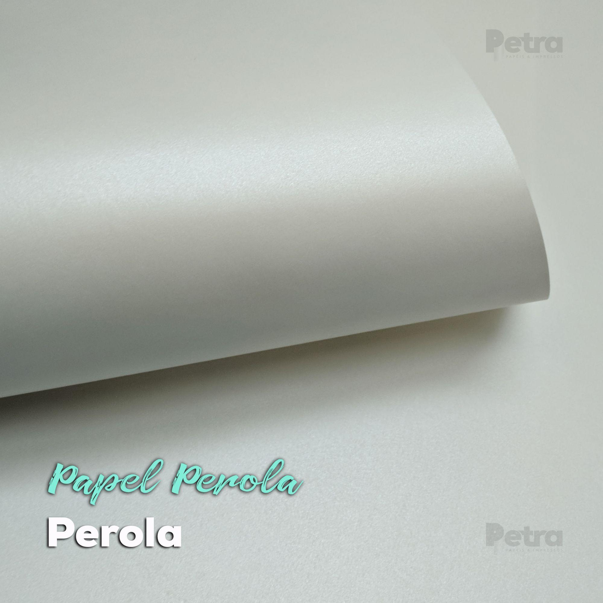 Papel Pérola Tam: 66x96cm 180g/m²  Com 10 folhas