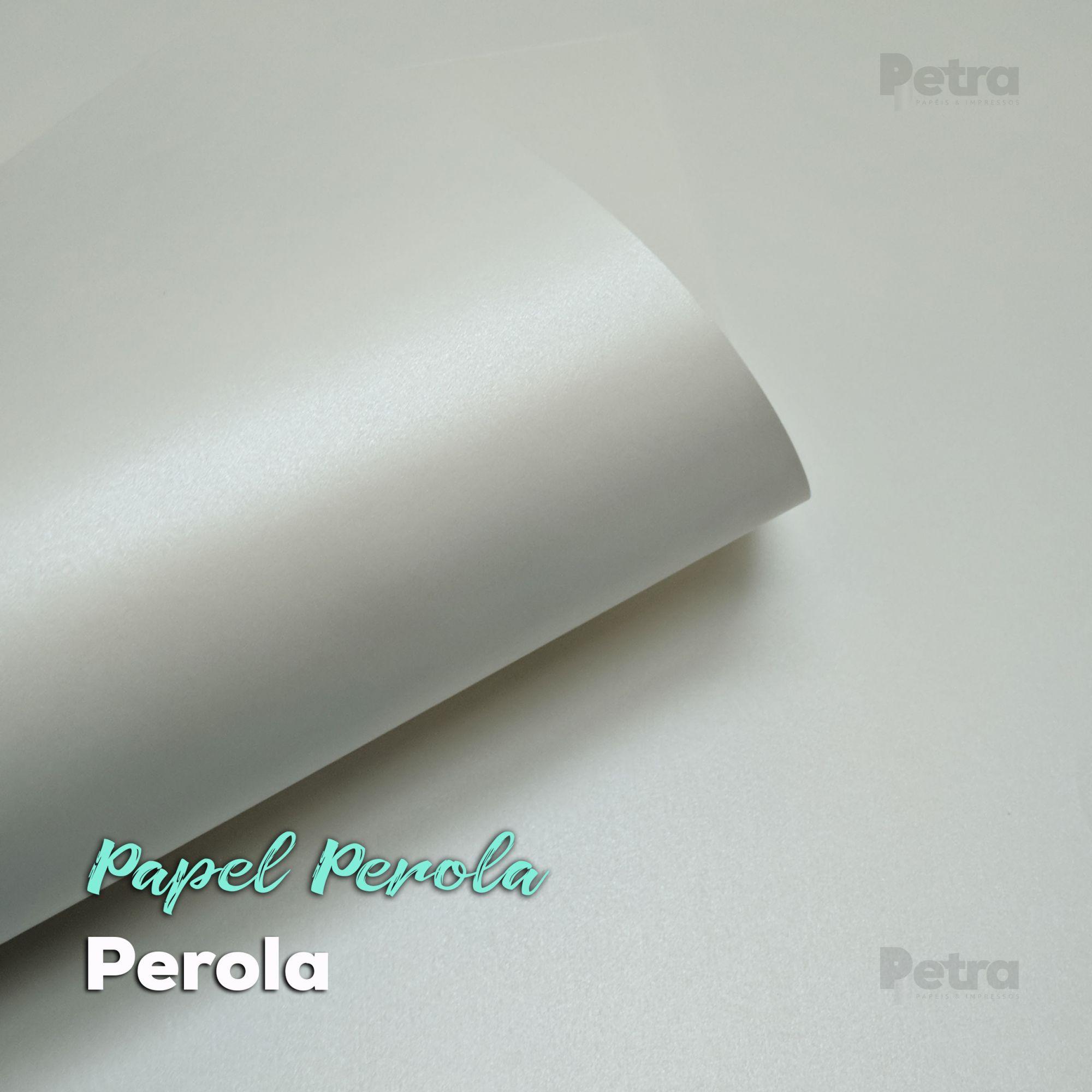 Papel Pérola Tam: A4 240g/m²
