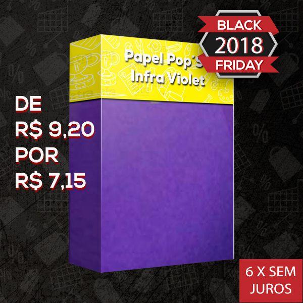 Papel Pop Set Infra Violet ( Violeta )  - Tam. A4 -170g/m² - 20 folhas