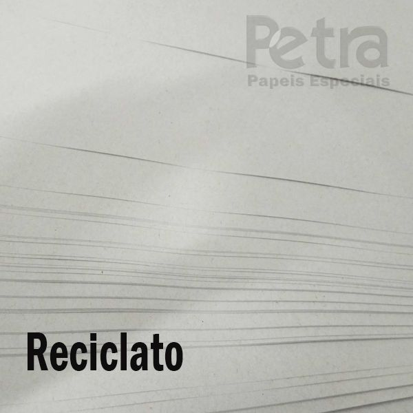 Papel Reciclato  240g/m² A4 pacote com 125 folhas