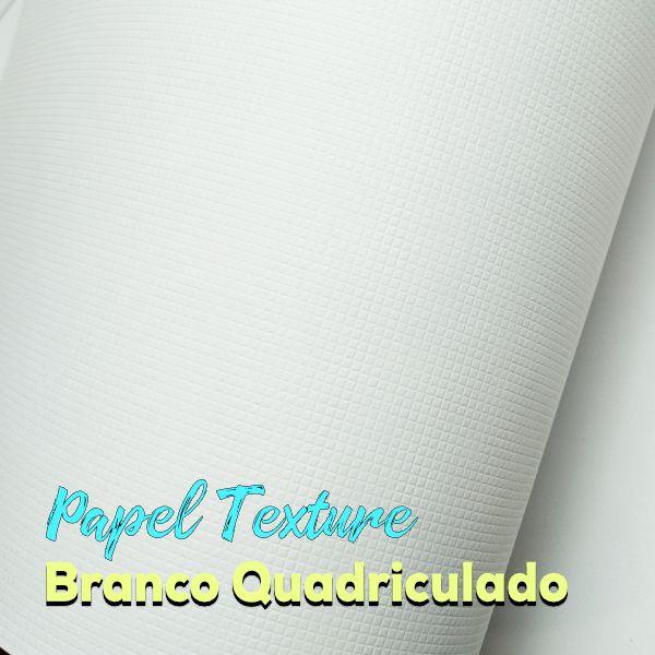Papel Textura Quadriculado 180g/m²  Tamanho A4 - com 100 folhas