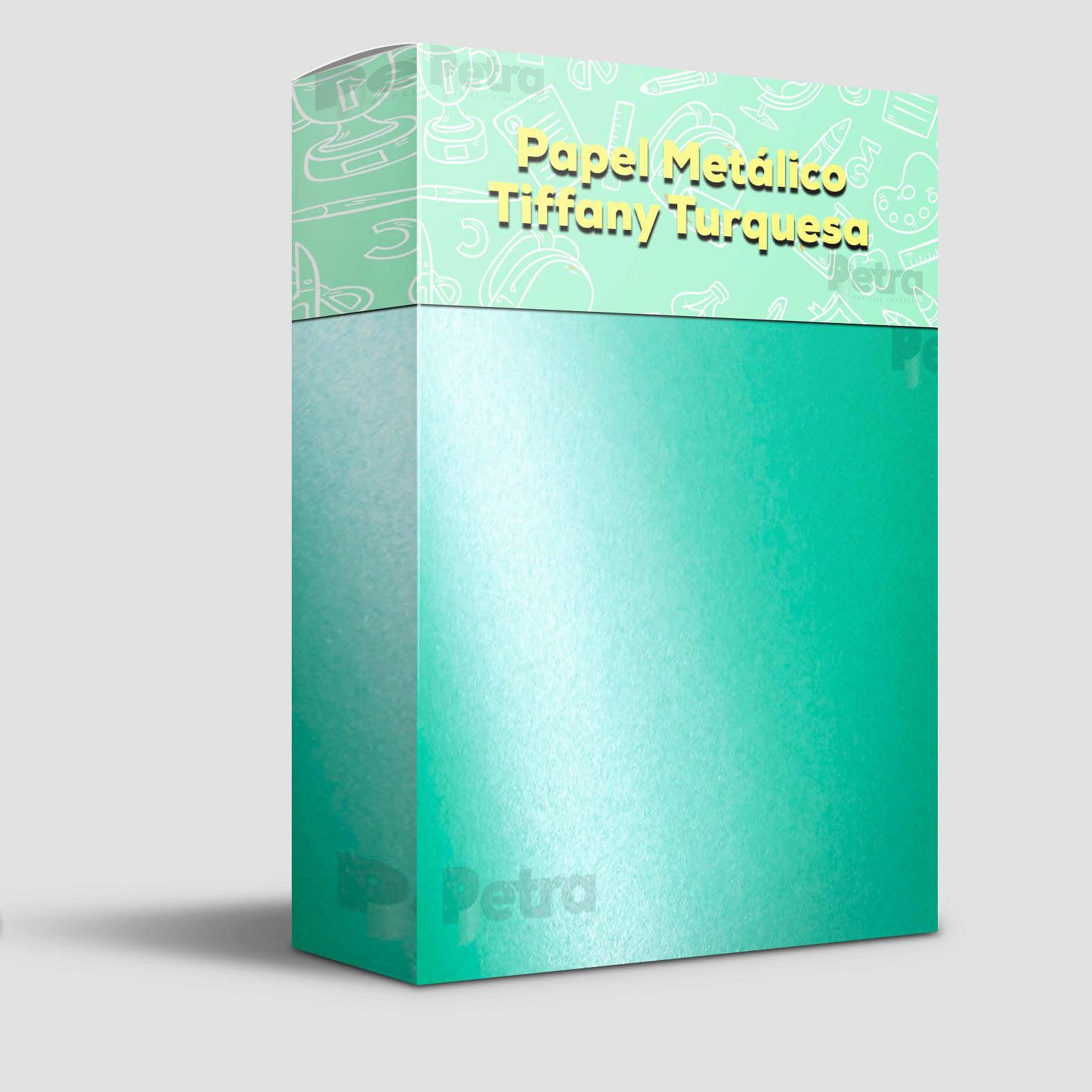 Papel Tiffany Turquesa Tam: A4 180g/m² com 20 folhas