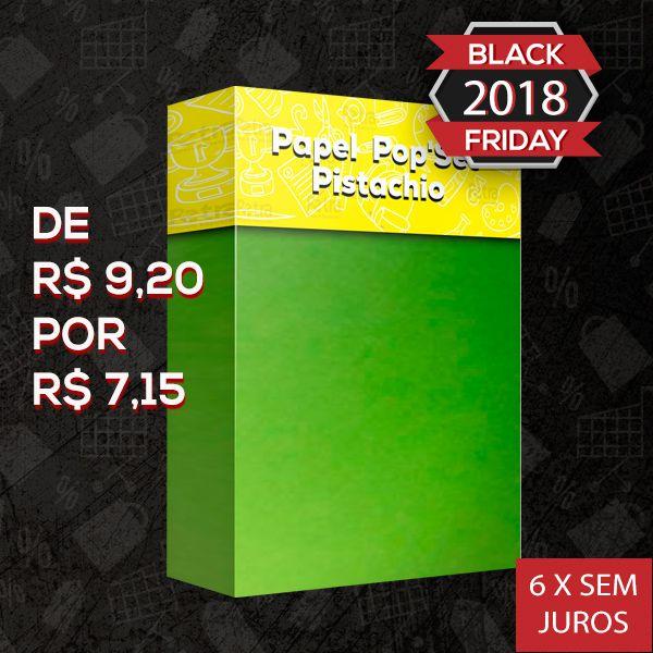 Pop Set Pistachio ( verde )  - Tam. A4 -170g/m² - 20 folhas
