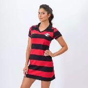 Vestido Milly Zico Flamengo Feminino - Braziline