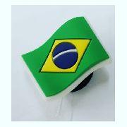 Jibbitz Broche Bandeira Brasil - Crocs