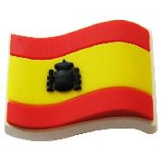 Jibbitz Broche Bandeira Spain - Crocs