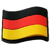 Jibbitz Broche Bandeira Germany - Crocs