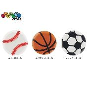 Kit Jibbitz Broche Sports Original - Crocs