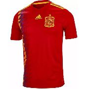 Camisa Oficial Seleção Espanha I Adidas Copa