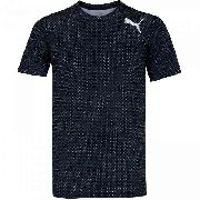 Camisa Puma Essential Tech Graphic Tee Black