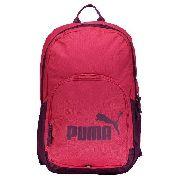 Mochila Puma Phase Rosa e Roxo - Original