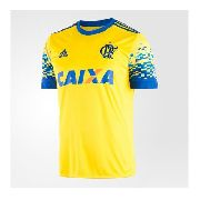 Camisa Flamengo 3 - Masculina Yellow / Power Blue