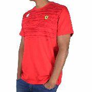 Camisa Puma Ferrari Tee Rosso Corsa - Original 2017/18 + Nfe
