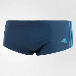Sunga Adidas 3S Med - Azul