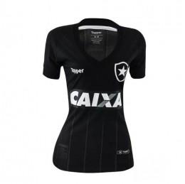 Camisa Botafogo Feminina Jogo Oficial Preta