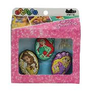 Kit Jibbitz Broche Disney Princesas Original - Crocs