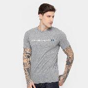 Camiseta Puma Bmw Msp Logo Tee Masculina - Original 2886dcce72c